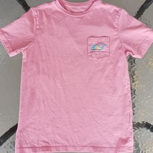 👽Vineyard Vines Florida Pink Crewneck T-shirt
